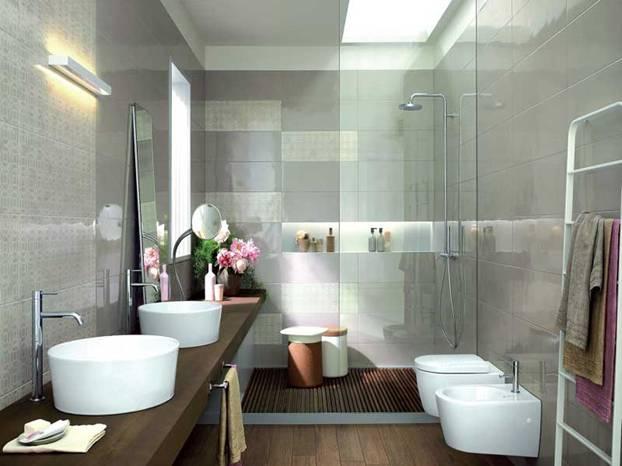 Organizzare gli spazi del tuo bagno a torino - Sanitari bagno torino ...