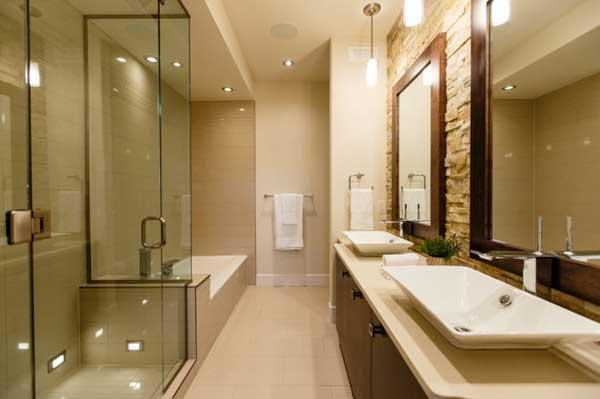 soluzioni per un bagno stretto arredo bagno torino. Black Bedroom Furniture Sets. Home Design Ideas