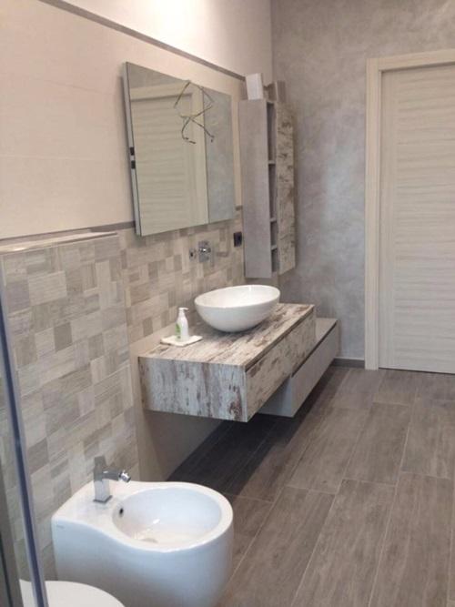 → ] Mobile bagno Pozzebon serie Kube | Torino